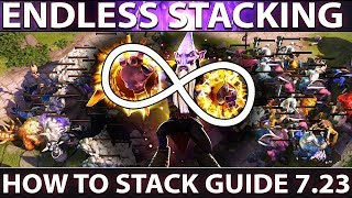 The Ultimate Stacking Guide 7.23 Patch New Map   Unlimited Stacking   Dota 2 Tips and Tricks