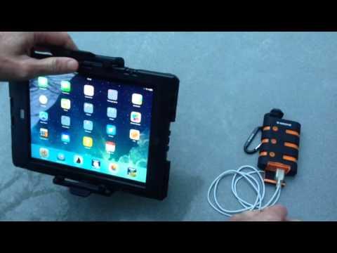 Cable étanche pour iPad