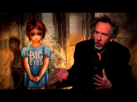 Big Eyes: Director Tim Burton Official Movie Interview