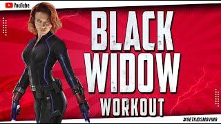 BLACK WIDOW WORKOUT (8mins 52secs) #GETKIDSMOVING
