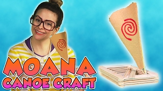 DIY Moana Boat! | Arts and Crafts with Crafty Carol