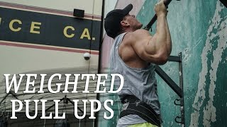 WEIGHTED PULL UPS   BACK DAY