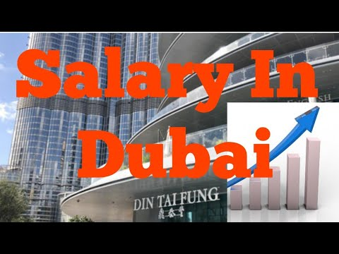 Jobs In Dubai | Salaries In Dubai |
