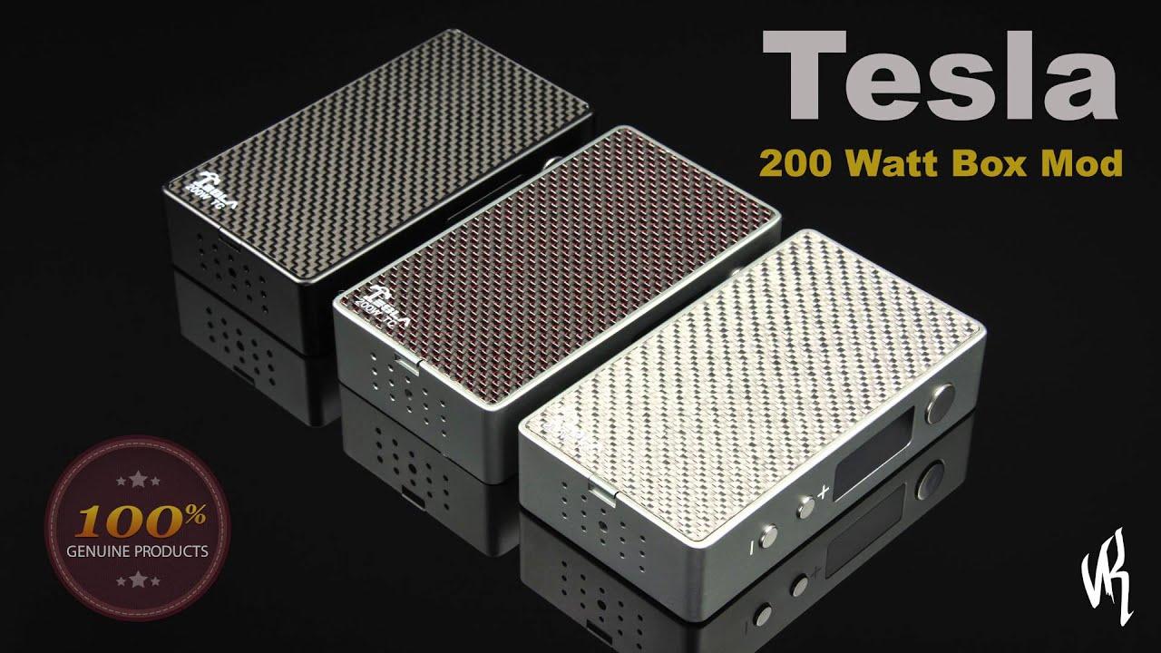 Tesla 200 Watt Regulated Box Mod