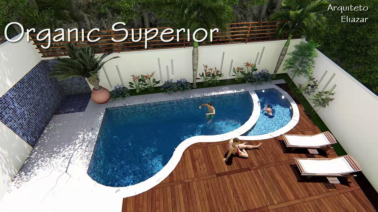 projeto piscinas pequenas aproveitando espa os