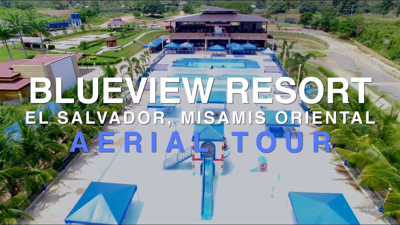 Blueview Resort El Salvador Aerial Tour 4k