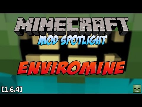 Minecraft Mods: EnviroMine, realismo a lo Hardcore [Forge][1.6.4]