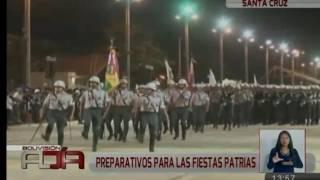 Gobernación de Santa Cruz alista desfile de Fiestas Patrias