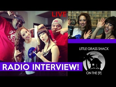 Hilly & Hannah Radio Interview | The Little Grass Shack | On The [9]