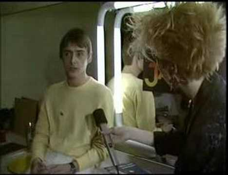 The Jam - The Tube - 1982 - Final ever Jam Weller interview