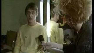 The Jam - The Tube - 1982 - Final ever Jam Weller interview