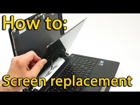 Laptop Screen Replacement Lenovo Z570, Z575