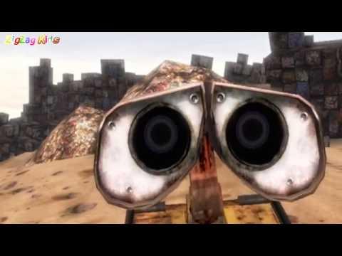 WALL·E | THE MOVIE Game Full | All Cutscenes | ZigZag Kids HD