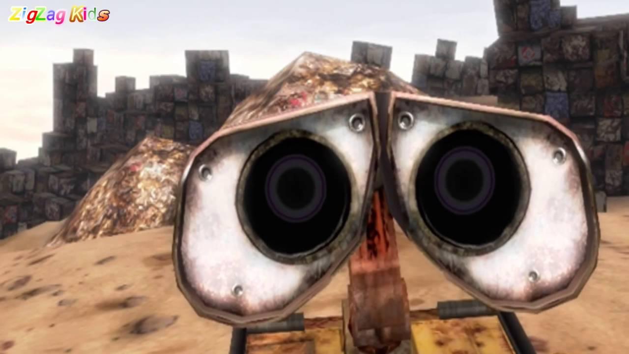 Ver WALL·E   THE MOVIE Game Full   All Cutscenes   ZigZag Kids HD en Español