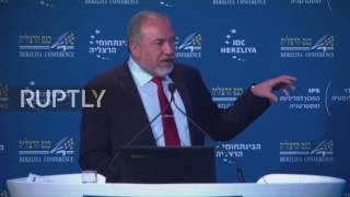Israel  Lieberman warns Syria against 'encouraging' Hezbollah and Iran