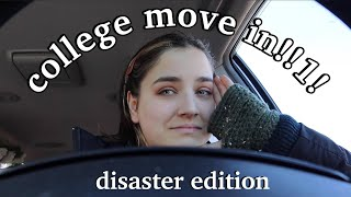 A College Move In Day Vlog But Everything Goes Wrong