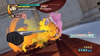 One Piece Pirate Warriors 3 Luffy vs Doflamingo Level 100 Gameplay