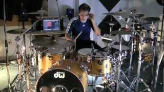 Shakira - Leo Teran  - Waka Waka 2010  (Drum Cover)