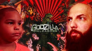 Godzilla Unleashed (Nintendo Wii) - Father & Son Beatdown