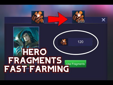 HOW TO GET HERO FRAGMENTS FAST AND EASY | HERO FRAGMENTS HACK | MOBILE LEGENDS HACK