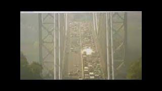 Mysterious Bright White Glow Emerges Suddenly on George Washington Bridge, New York