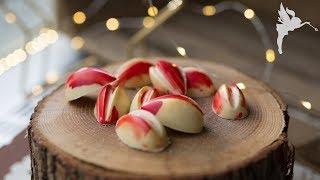 Schoko Reihe 4 - Lebkuchen Orangen Pralinen - Weihnachtliche Pralinen - Kuchenfee