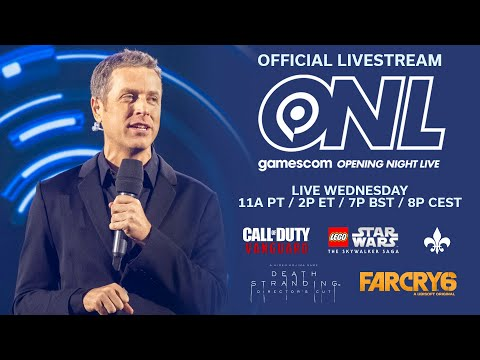 gamescom: Opening Night Live 2021 (Live Wednesday with Saints Row, Call of Duty + More!)