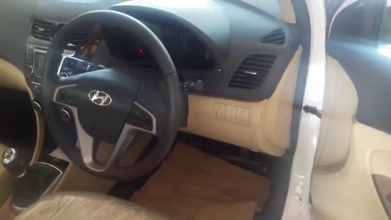 Hyundai Verna Fluidic 16 CRDI SX Interior Exterior