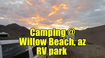 Camping @ Willow Beach, AZ - Colorado River