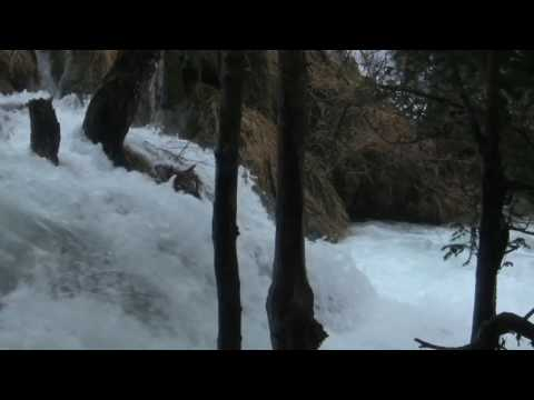 Cheap Travel Destination White Water and Lakes Croatia Trip Camcorder Waterfall B-Roll Canon Vixa