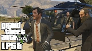 GTA5 - Das große Ding ! - Let's Play GTAV #58 - Grand Theft Auto five Deutsch
