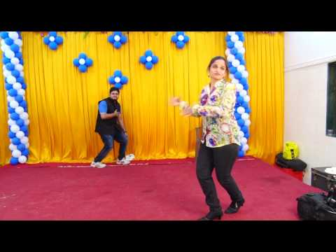 Best Couple Dance on Govinda Songs at a Sangeet Ceremony
