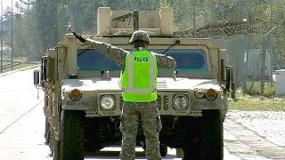 U.S. Army HMMWV (Hummer) - Railhead Training