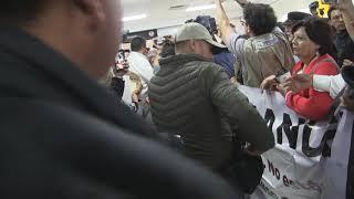 Entrega el CSSPES un oficio al Presidente Andres Manuel López Obrador sobre el ISSSTESON y el ISR