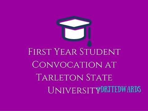 First Year Student Convocation at Tarleton State University