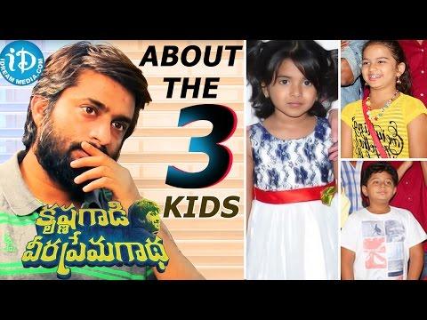 Hanu Raghavapudi About The Three Kids    KVPG Movie    Talking Movies With iDream