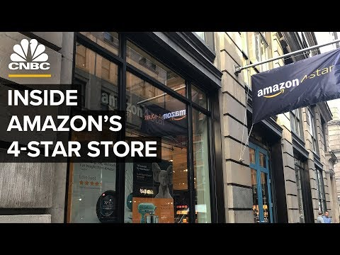 Inside Amazon's New 4-Star Store