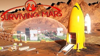 The Golden Rocket and Mystery Unlcoked! - Ep. 10 - Surviving Mars Gameplay