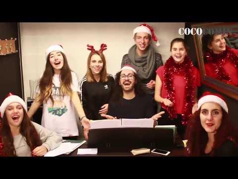 Los alumnos de PRE-MUSICAL de l'ESCOLA COCO COMIN te desean FELIZ NAVIDAD