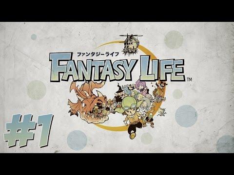 Fantasy Life Ep.1 - MARAVILLOSO MUNDO (Parte 1 en español)