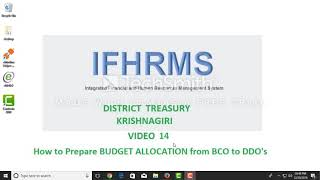 IFHRMS VIDEO 14