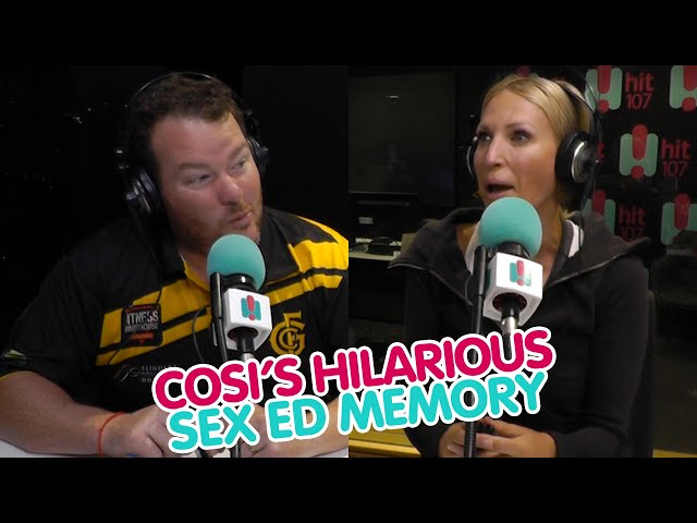 Cosi Shares His Hilarious Sex Education Memory