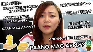Homebased Job sa Pinas! SAAN MAG AAPPLY? MAY BENEFITS?