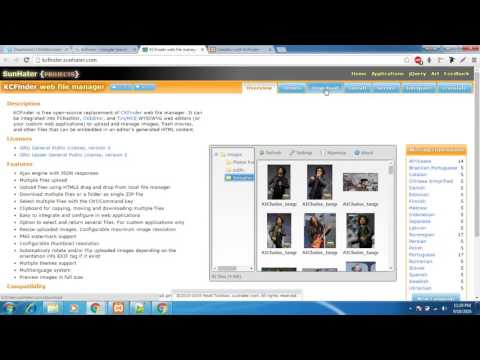 CKEditor in PHP Tutorial | CKEditor Image Upload using KCFinder plugin