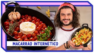 O FAMOSO MACARRÃO DO TIKTOK | Receitas Internéticas | Mohamad Hindi