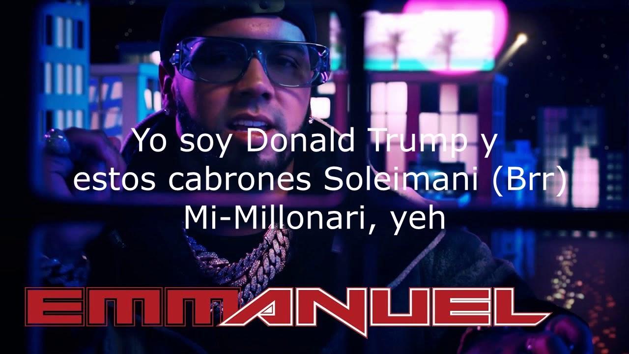Anuel Aa Lil Wayne Ferrari Letra Lyrics Youtube