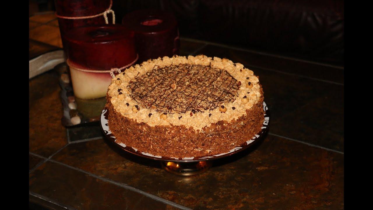 торт золотой орех рецепт с фото пошаговый