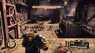 Warhammer 40000  Space Marine PC Gameplay 60 fps