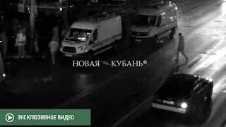 """Видео ДТП Range Rover """"А072СК23"""" 13 ноября (камера 7)"""