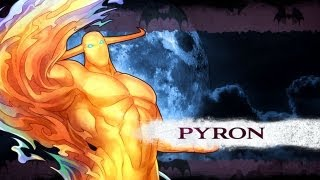 Darkstalkers Resurrection - Pyron Moves List